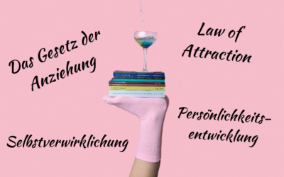 "11 Bücher rund um das Thema ""Law of Attraction"""