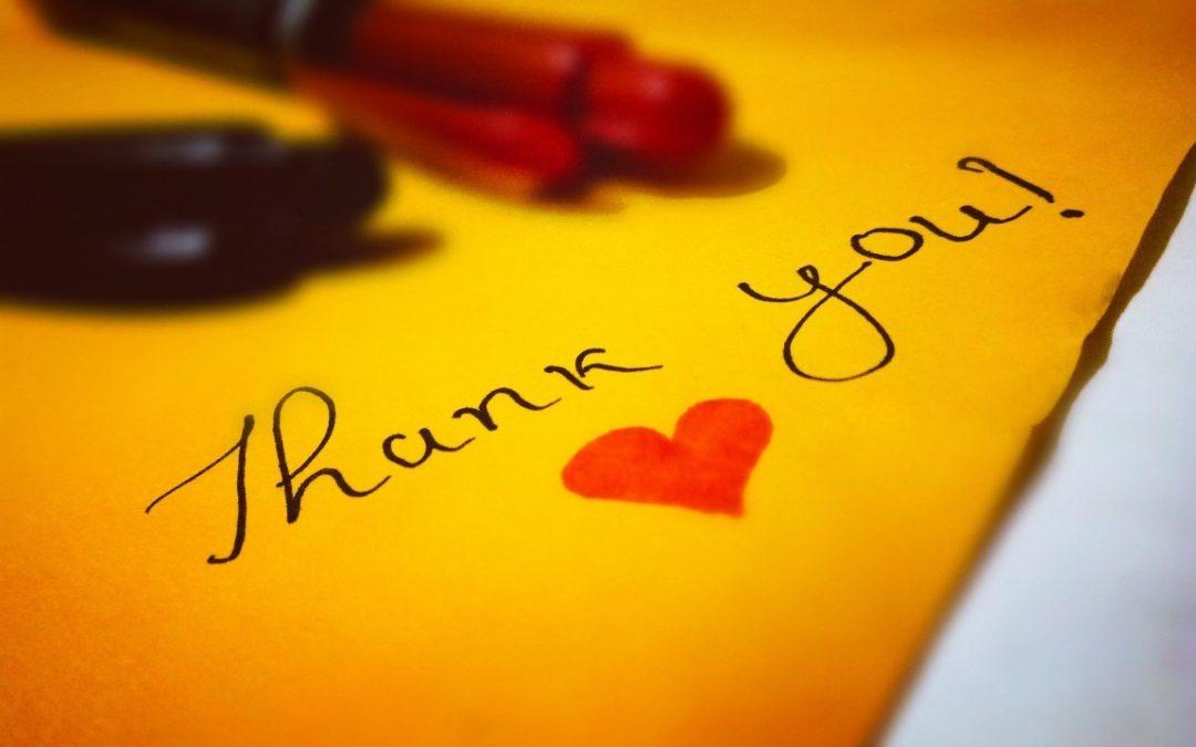 Dankbarkeit für mehr Glück und Zufriedenheit