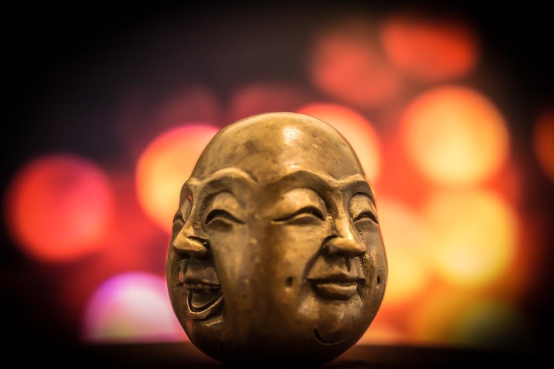 Glück Buddha