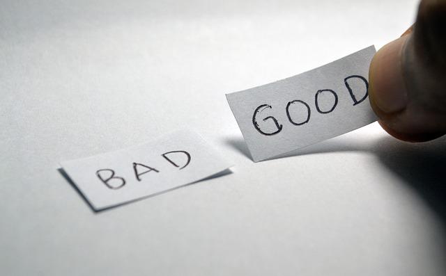 Glaubenssätze gut schlecht