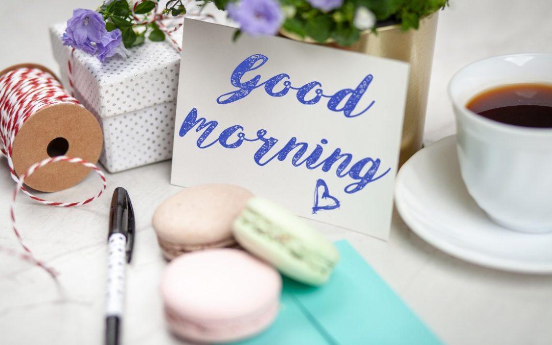 Morgenroutine für einen besseren Start in den Tag